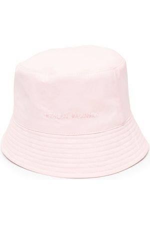 Ruslan Baginskiy Women Hats - Logo-print sun hat