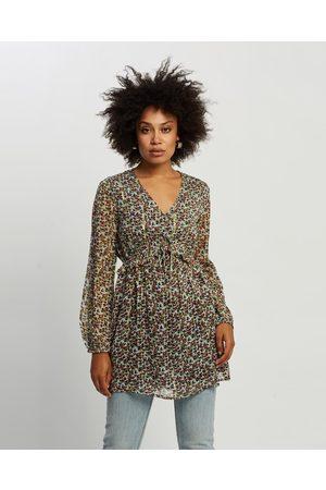 Kaja Clothing Women Tops - Jaclyn Tunic - Tops (Floral Print) Jaclyn Tunic