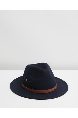 Billy Bones Club Hats - Monday Fedora - Hats (Navy ) Monday Fedora