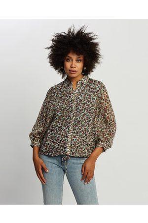 Kaja Clothing Women Crop Tops - Himla Top - Cropped tops (Floral Print) Himla Top