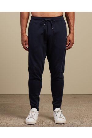 Polo Ralph Lauren Men Joggers - Double Knit Jogger Pants - Sweatpants (Navy) Double-Knit Jogger Pants
