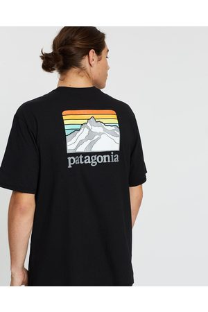 Patagonia Men Short Sleeve - Line Logo Ridge Pocket Responsibili Tee - T-Shirts & Singlets Line Logo Ridge Pocket Responsibili-Tee