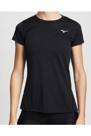 Mizuno Women T-shirts - Impulse Core Running Tee - Short Sleeve T-Shirts Impulse Core Running Tee