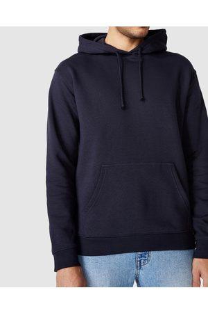 Cotton On Men Hoodies - Essential Fleece Pullover - Hoodies (Ink Navy) Essential Fleece Pullover