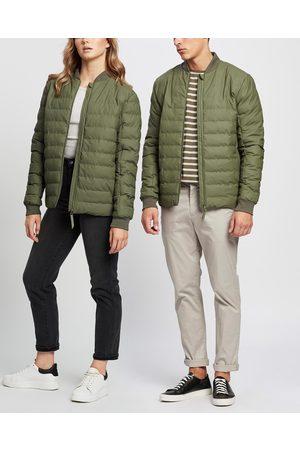 Rains Raincoats - Trekker Jacket Unisex - Coats & Jackets (Olive) Trekker Jacket - Unisex