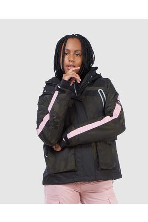 Superdry Women Outdoor Jackets - Freestyle Cargo Jacket - Snow Sports (Camo) Freestyle Cargo Jacket