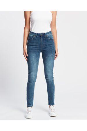 DRICOPER DENIM Women High Waisted - DCD High Classic Jeans - High-Waisted (Classic Wash) DCD High Classic Jeans