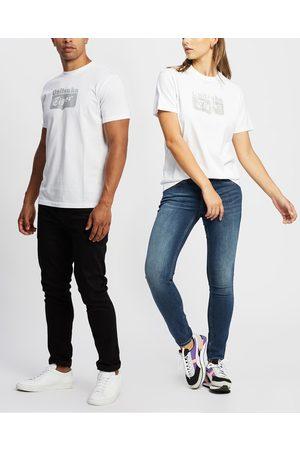 Onitsuka Tiger Short Sleeve - Logo Tee Unisex - T-Shirts & Singlets (Real / ) Logo Tee - Unisex