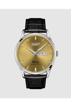 Tissot Men Watches - Heritage Visodate Powermatic 80 - Watches (Champagne & ) Heritage Visodate Powermatic 80