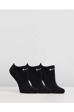 Nike Socks - Everyday Cushion No Show 3 Pack - Underwear & Socks ( & ) Everyday Cushion No-Show 3-Pack