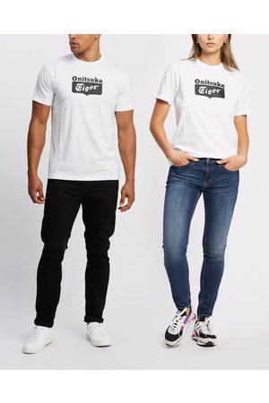 Onitsuka Tiger Short Sleeve - Logo Tee Unisex - T-Shirts & Singlets (Real / Performance ) Logo Tee - Unisex