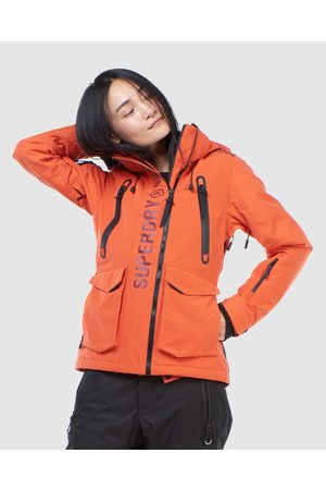 Superdry Women Jackets - Ultimate Rescue Jacket - Snow Sports (Havanna ) Ultimate Rescue Jacket