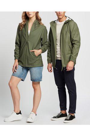 Rains Storm Breaker Unisex - Coats & Jackets (Olive) Storm Breaker - Unisex