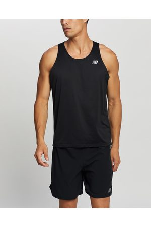 New Balance Men Tank Tops - Accelerate Singlet - Muscle Tops Accelerate Singlet