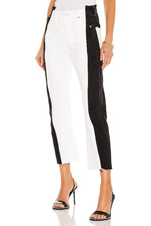 EB Denim Two Toned in ,White.