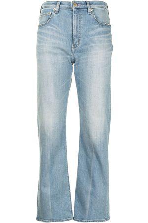 TU ES MON TRESOR The Amethyst flare leg jeans