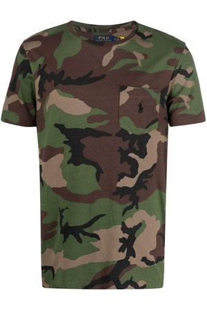 Polo Ralph Lauren Camouflage-print cotton T-Shirt