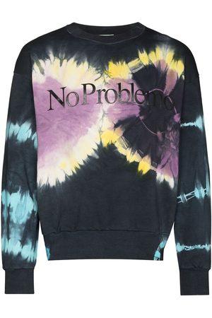 ARIES Men Sweatshirts - No Problemo tie-dye sweatshirt