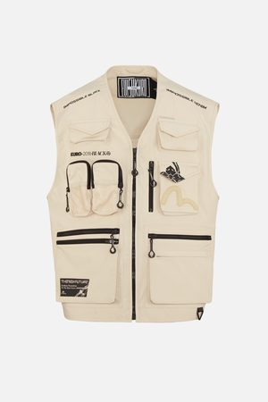 Evisu Multi Pocket Explorer Vest Jacket