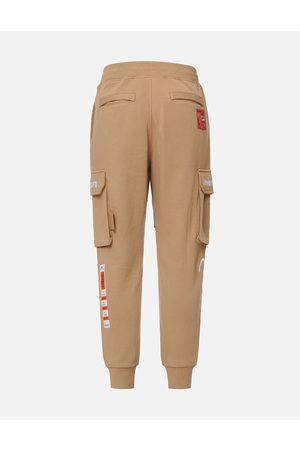 Evisu Men Cargo Pants - Woven Label Cargo Sweatpants