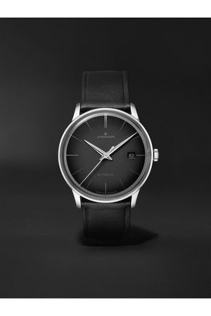 Junghans Meister Automatic 38mm Stainless Steel and Leather Watch, Ref. No. 027/4051.00