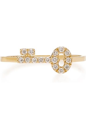 Noush Jewelry Women's Secret Key 14K And Diamond Ring - - Moda Operandi