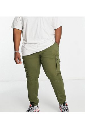 Jack & Jones Intelligence cargo pants in khaki-Green