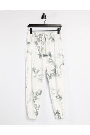 Onzie Trackies in white tie-dye