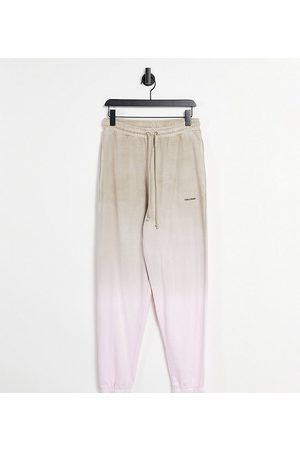 COLLUSION Unisex oversized trackies in ombre co-ord-Multi