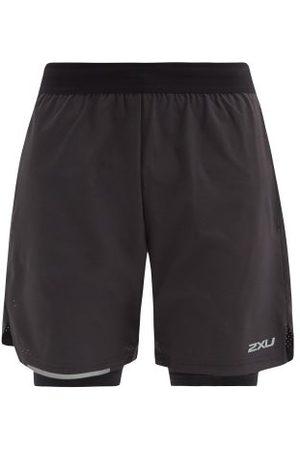 2XU Aero Double-layer Technical Running Shorts - Mens