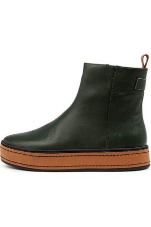 Django & Juliette Women Ankle Boots - Gregor Dj Forest Dk Tan Boots Womens Shoes Casual Ankle Boots