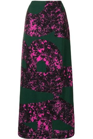 colville Women Printed Skirts - Abstract print long skirt
