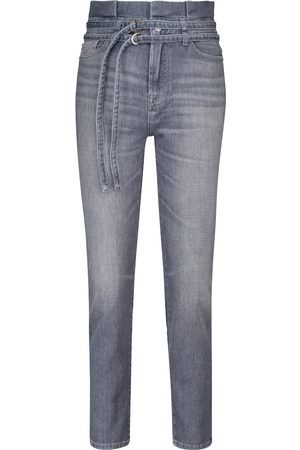 7 for all Mankind Women High Waisted - Paperbag slim jeans