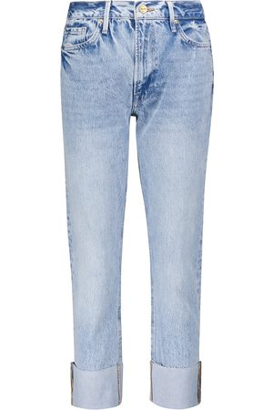 Frame Le Piper high-rise straight jeans