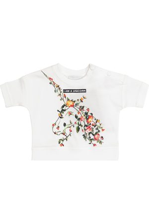 Burberry Baby printed cotton top