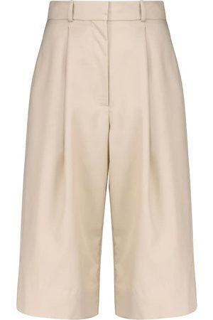 Low Classic Women Bermudas - Wool Bermuda shorts