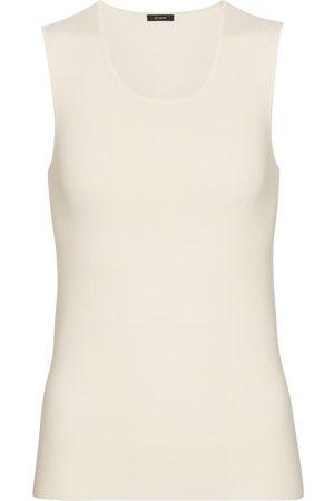 Joseph Women Tank Tops - Silk-blend jersey tank top