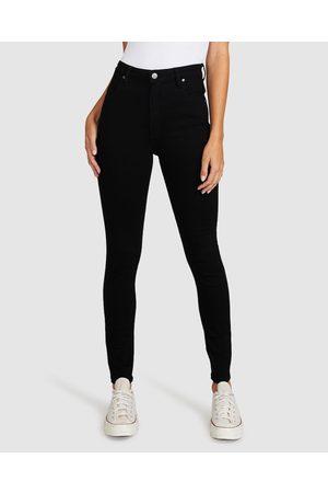 Wrangler Women Skinny - Hi Pins Jean Super Sonic