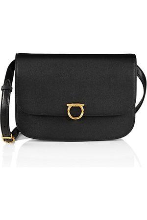 Salvatore Ferragamo Women Shoulder Bags - Leather Round Crossbody Bag