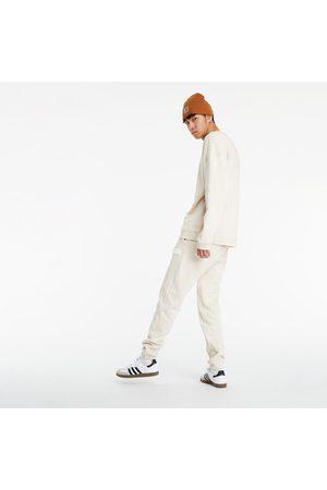 adidas Adidas R.Y.V. Silicone Double Linear Badge Crew Sweatshirt Halo Ivory