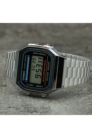 Casio Watches - A168WA-1YES Silver