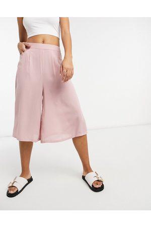 87 ORIGINS Culottes in pink
