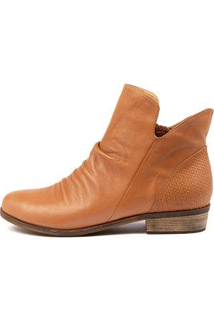 Django & Juliette Women Ankle Boots - Spray Dj Tan Boots Womens Shoes Casual Ankle Boots
