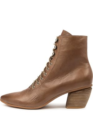Django & Juliette Women Ankle Boots - Jujus Dj Warm Taupe Boots Womens Shoes Casual Ankle Boots