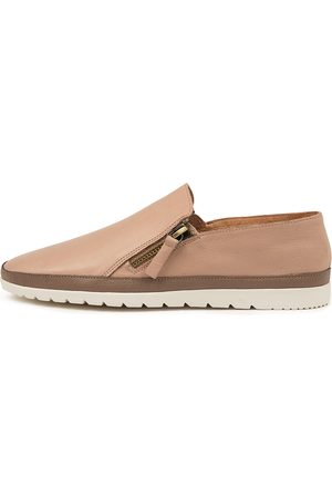 Diana Ferrari Women Casual Shoes - Ashli Df Dk Nude Taupe Shoes Womens Shoes Casual Flat Shoes