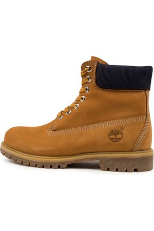 Timberland 6 Premium Icon Boots Wheat Navy Boots Mens Shoes Casual Ankle Boots