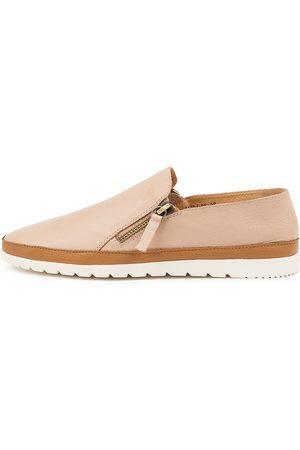 Diana Ferrari Women Casual Shoes - Ashli Df Dk Nude Dk Tan Shoes Womens Shoes Casual Flat Shoes