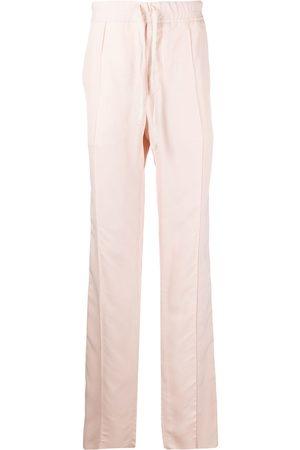 Tom Ford Men Pants - Drawstring gabardine straight-leg trousers