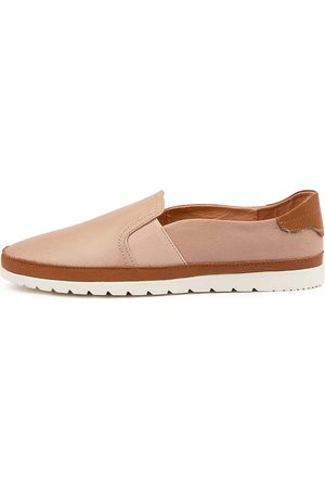Diana Ferrari Women Casual Shoes - Aisling Df Dk Nude Dk Tan Shoes Womens Shoes Casual Flat Shoes