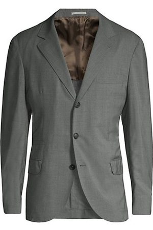 Brunello Cucinelli Wool & Silk Travel Blazer